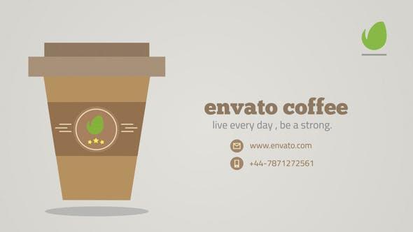 Videohive Morning Coffee Logo 9499801