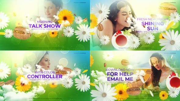Videohive Morning Talk Show Opener 27005382