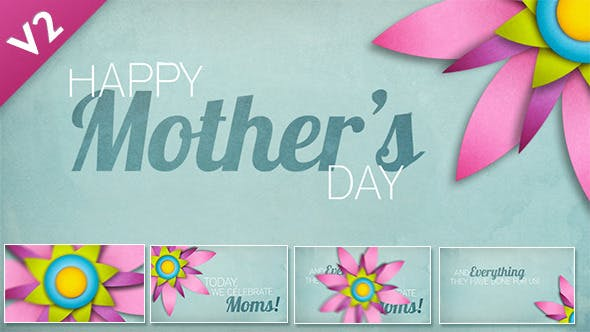 Videohive Mothers Day Easter Animation 4588105