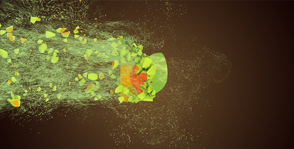 Videohive Motion Particles Logo 11094370