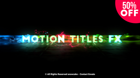 Videohive Motion Titles FX 22549236