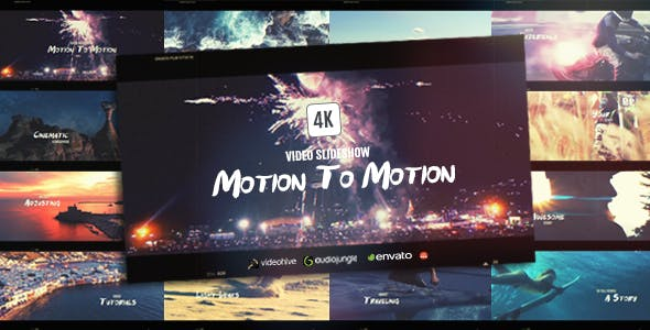 Videohive Motion To Motion Sports Journey Slideshow 19283574