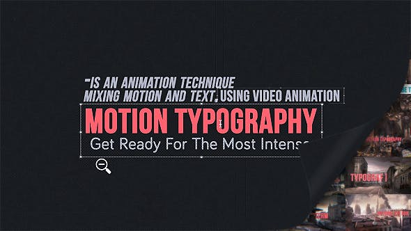 Videohive Motion Typography Glitch Titles 8167483