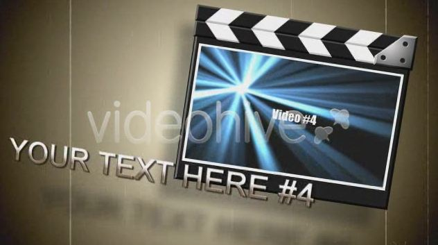 Videohive Movie Slate V1.74324