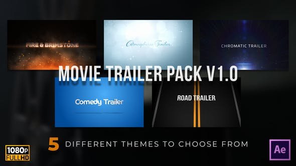 Videohive Movie Trailer Variety Pack v1.0 25505985