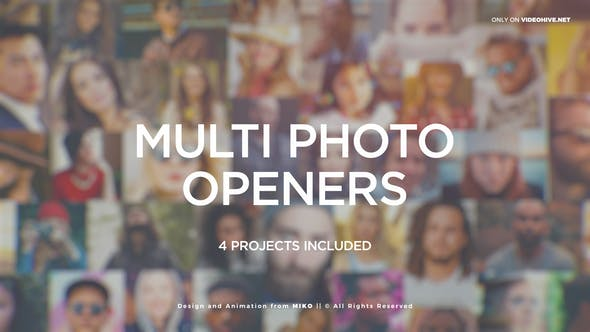 Videohive Multi Photo Logo Openers 22435684