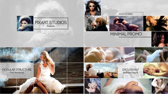 Videohive Multi Screen Minimal Promo 14642924