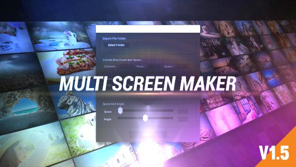 Videohive Multi Video Screen Maker Auto 19277984