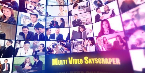 Videohive Multi Video Skyscraper-Corporate Template 2429261