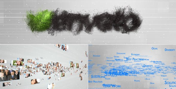 Videohive Multi Video Text Logo Reveal 3180656