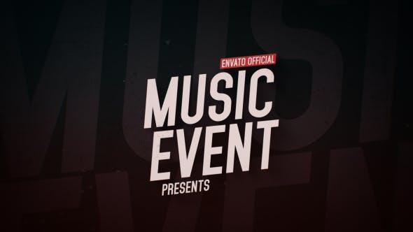 Videohive Music Event Promo 16781029