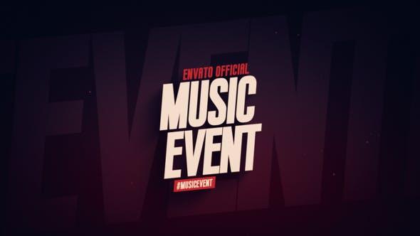Videohive Music Event Promo 21782112