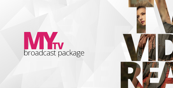 Videohive MyTv Broadcast Package