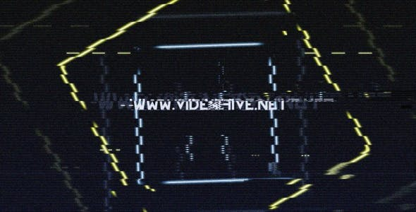 Videohive NTZ48 Glitch Logo 9906907