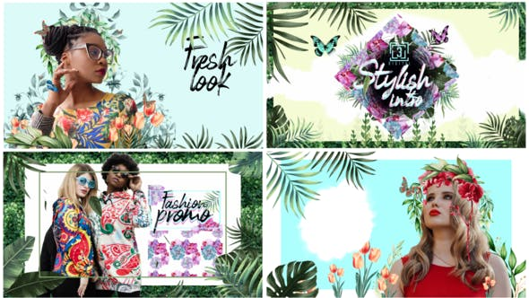 Videohive Nature Spring Fashion Summer Intro 26644451