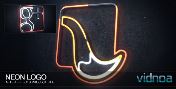 Videohive Neon Logo 7145951