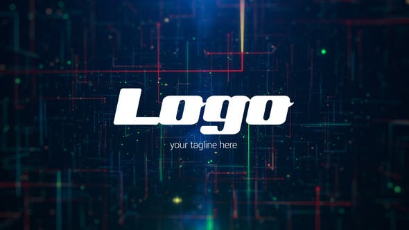 Videohive Network Logo Reveal 22665633