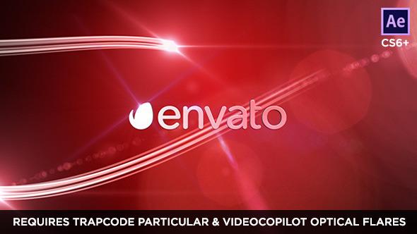 Videohive Network Logo Streaks 7849950
