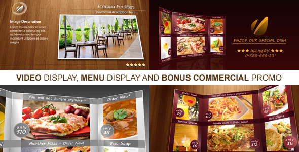 Videohive New Restaurant Presentation