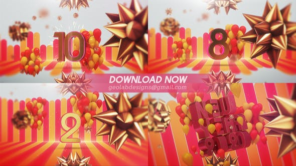 Videohive New Year 2020 Countdown - New Year Celebration Template 25356232