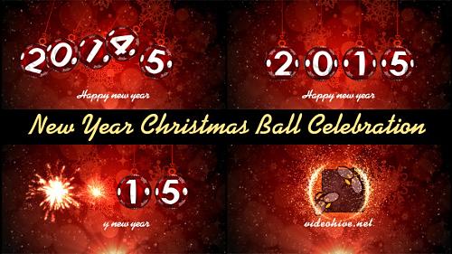 Videohive New Year Christmas Ball Celebration
