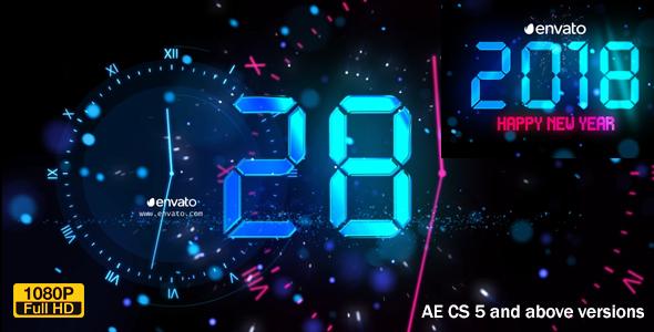 Videohive New Year Countdown 2018 21011217