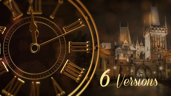 Videohive New Year Countdown 2019 Gold and Silver 19175127