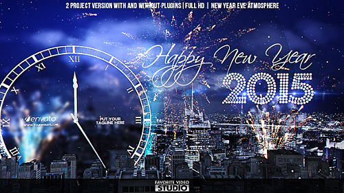 Videohive New Year Eve Countdown