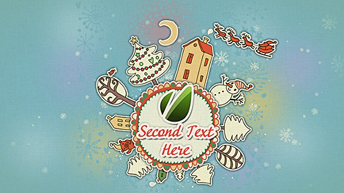 Videohive New Year Round Animation