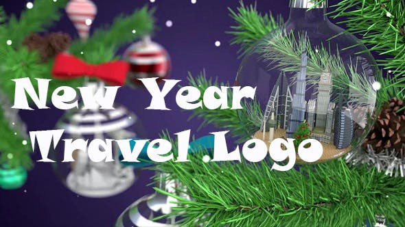Videohive New Year Travel Logo 18749863