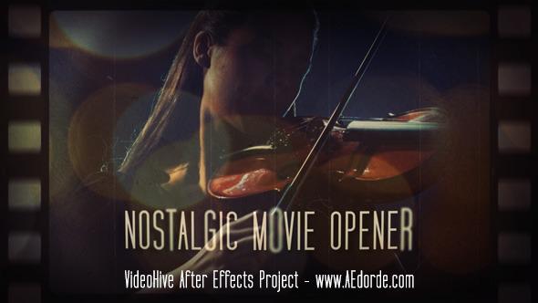 Videohive Nostalgic Movie Opener 11441425