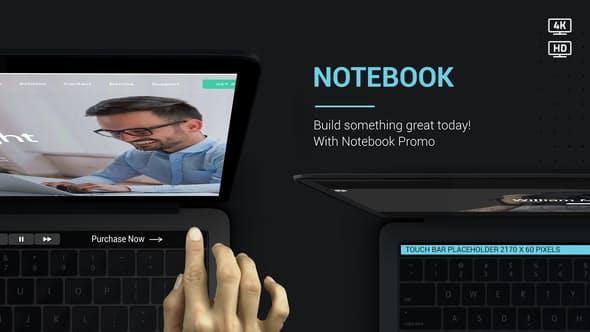Videohive Notebook Web Promo V2 22802822