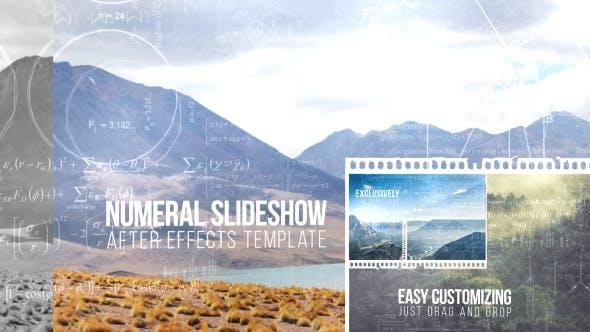 Videohive Numeral Slideshow 13338158