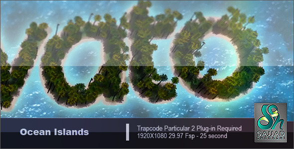 Videohive Ocean Island 1277479