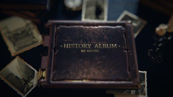 Videohive Old History Photo Album 26689145