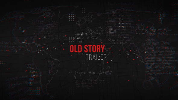 Videohive Old Story Trailer 19930813