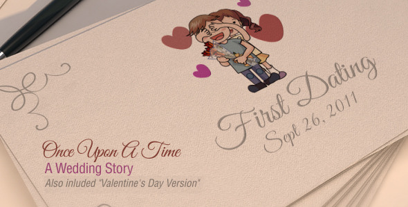 Videohive Once Upon A Time - A Wedding Story 6721644