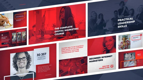 Videohive Online Educational Course Promo 26875257