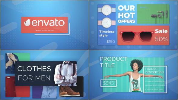 Videohive Online Shop Promo 17958763