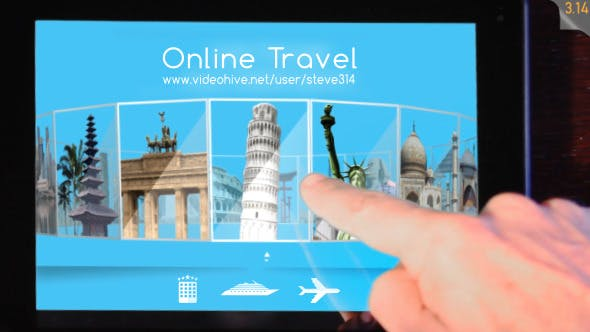 Videohive Online Travel Agency Advert 11382851