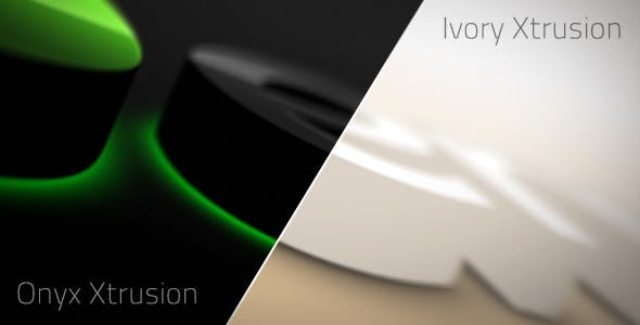 Videohive Onyx Ivory Xtrusion 167989