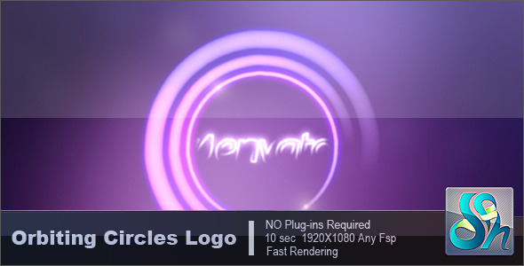 Videohive Orbiting Circles Logo 3350079