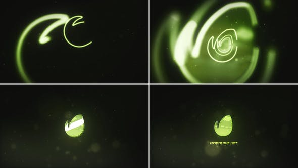 Videohive Outline Tunnel Logo 21852657