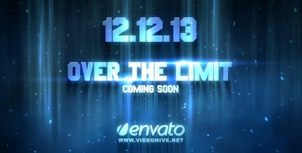 Videohive Over The Limit 2947660