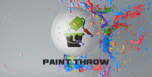 Videohive Paint Throw 15615819