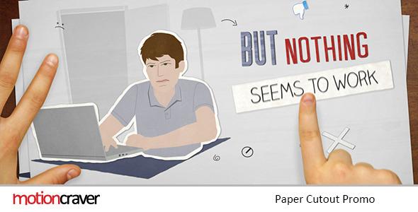 Videohive Paper Cutout Promo