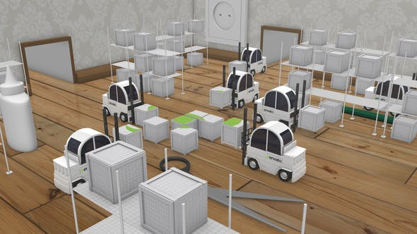 Videohive Paper Logistic Company Opener 22144060