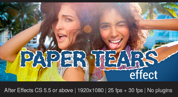 Videohive Paper Tears 11333428