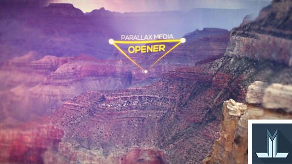 Videohive Parallax Media Opener 17736141