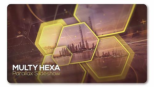 Videohive Parallax Slideshow Multi Hexa 19723900